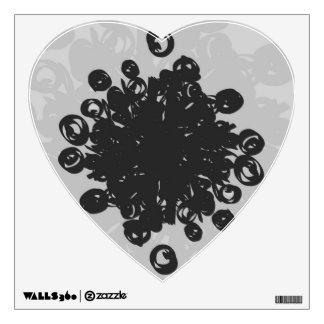 Pollen Heart Wall Sticker