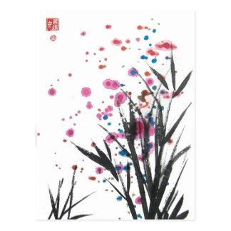 Pollen in the Garden Postcard