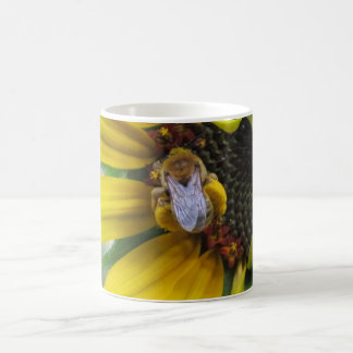 Pollen Loaded Native Bee Classic White Coffee Mug