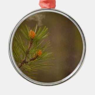 pollen metal ornament