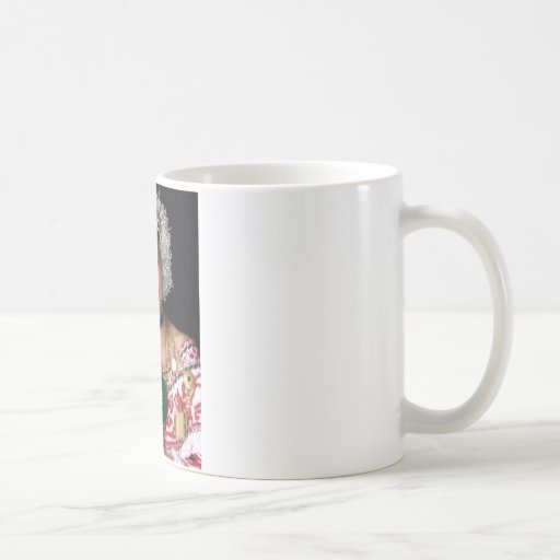 pollera1 classic white coffee mug