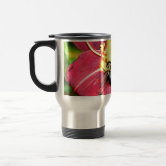 Pollinating Bee Travel Mug