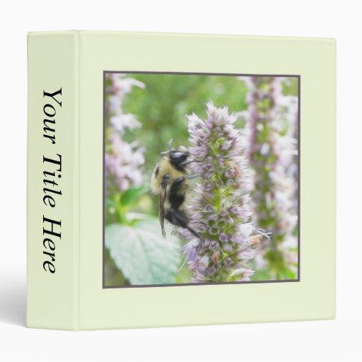 Pollination – Bumblebee on Agastache Binder