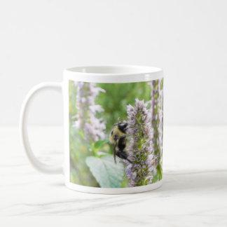 Pollination – Bumblebee on Agastache Coffee Mug