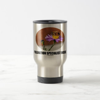 Pollination Specialist Inside (Bee On A Flower) Coffee Mugs