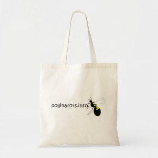 pollinators.info tote tote bag