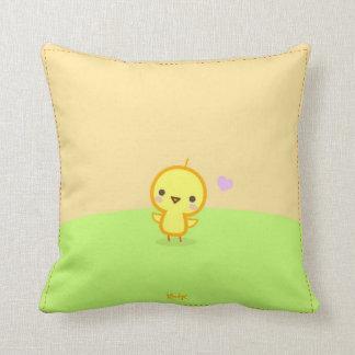 Pollino ♥ Hamsteru (cute pillow) Throw Pillow