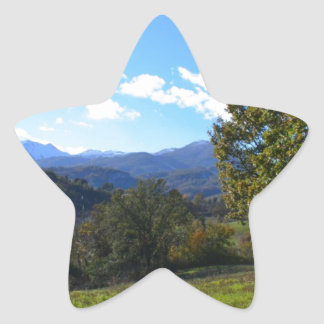 Pollino National Park Star Sticker