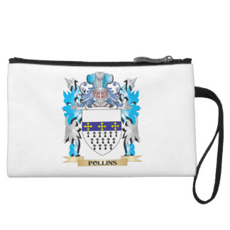Pollins Coat of Arms - Family Crest Wristlets