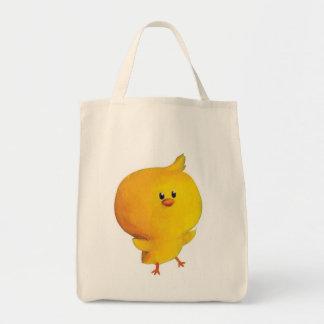 Pollo amarillo lindo bolsas