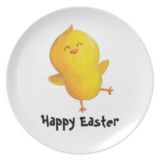 Pollo amarillo lindo de Pascua - txt de encargo - Platos Para Fiestas