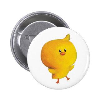 Pollo amarillo lindo pin