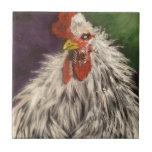 pollo azulejo ceramica