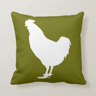 Pollo blanco cojín