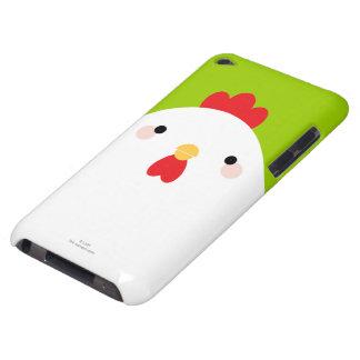 Pollo blanco en verde iPod touch coberturas