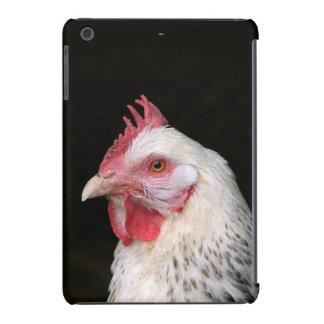 Pollo blanco fundas de iPad mini retina