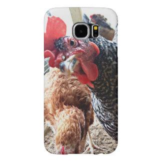 Pollo con actitud - Samsung llama por teléfono al Funda Samsung Galaxy S6