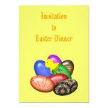 Pollo con la invitación de los huevos de Pascua #1