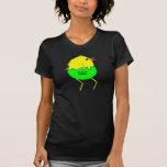 Pollo corriente camiseta