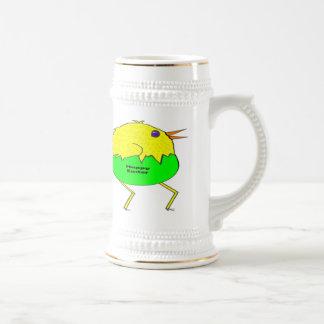 Pollo corriente taza de café