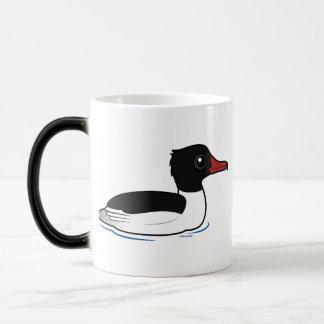 Pollo de agua común taza de café