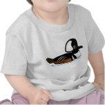 Pollo de agua encapuchado camiseta