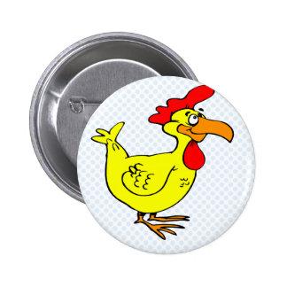 Pollo de Chappo Pins