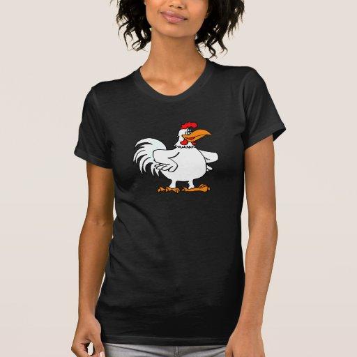 Pollo de Charmichael Camisetas