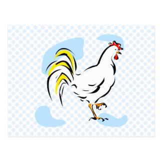 Pollo de Chelly Tarjeta Postal