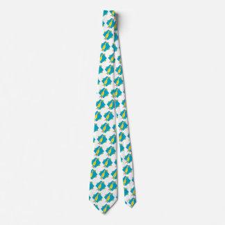 pollo de goma chistoso de la mordaza divertida corbata personalizada