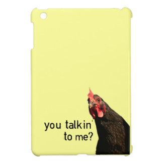 ¿Pollo de la actitud - usted Talkin a mí?