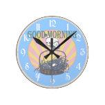 Pollo de la buena mañana relojes