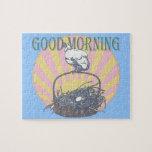 Pollo de la buena mañana rompecabezas con fotos