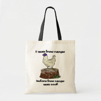 Pollo de la cadera, bolso de compras bolsa tela barata