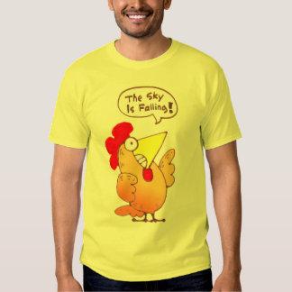 Pollo de la camiseta el | del pollo del dibujo remera