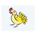Pollo de la caza postal