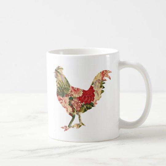 Pollo de la zaraza taza de café
