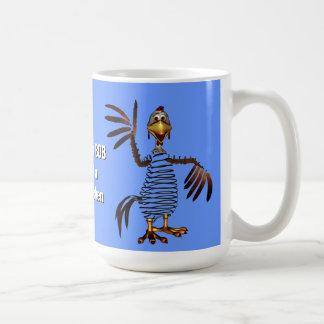 Pollo de primavera tazas de café