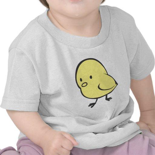 Pollo del bebé camisetas