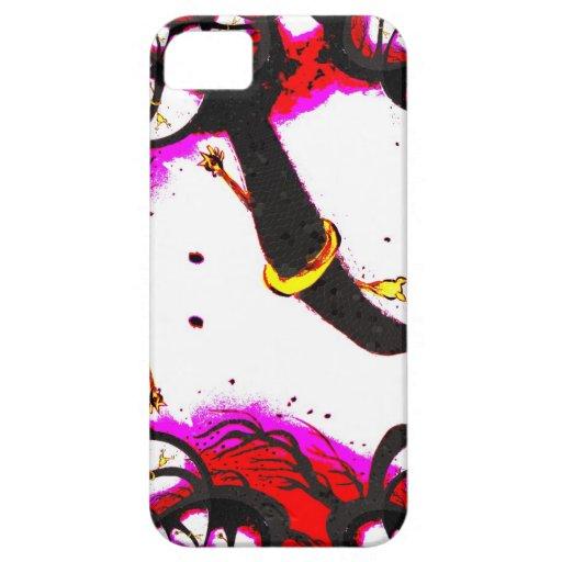 Pollo del caucho del tornado iPhone 5 funda