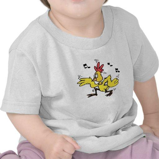 Pollo del ChaChaCha Camisetas