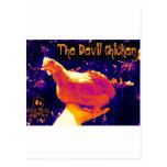 Pollo del diablo postales