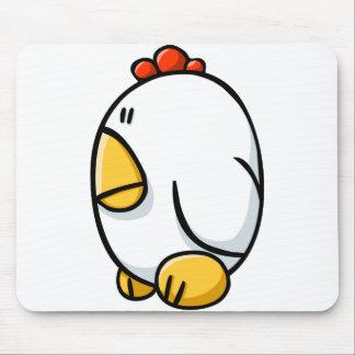 Pollo del dibujo animado alfombrilla de ratón