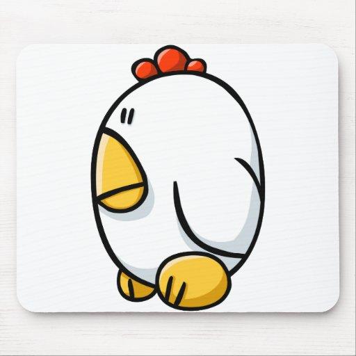 Pollo del dibujo animado tapetes de ratones