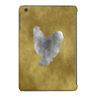 Pollo del Grunge Fundas De iPad Mini