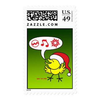 Pollo del navidad que hace un deseo