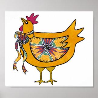 Pollo del país poster