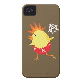 Pollo del punk rock Case-Mate iPhone 4 fundas
