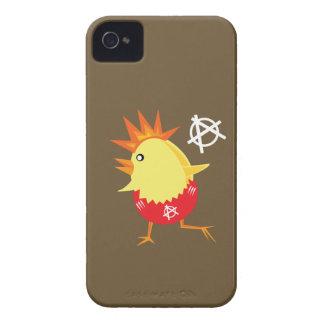 Pollo del punk rock iPhone 4 fundas