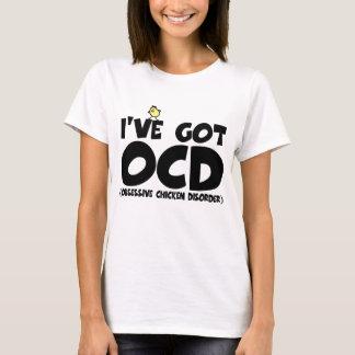 Pollo divertido de OCD Playera